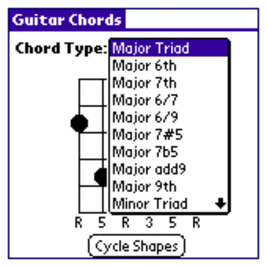 Guitar Chords For Palm Os Download