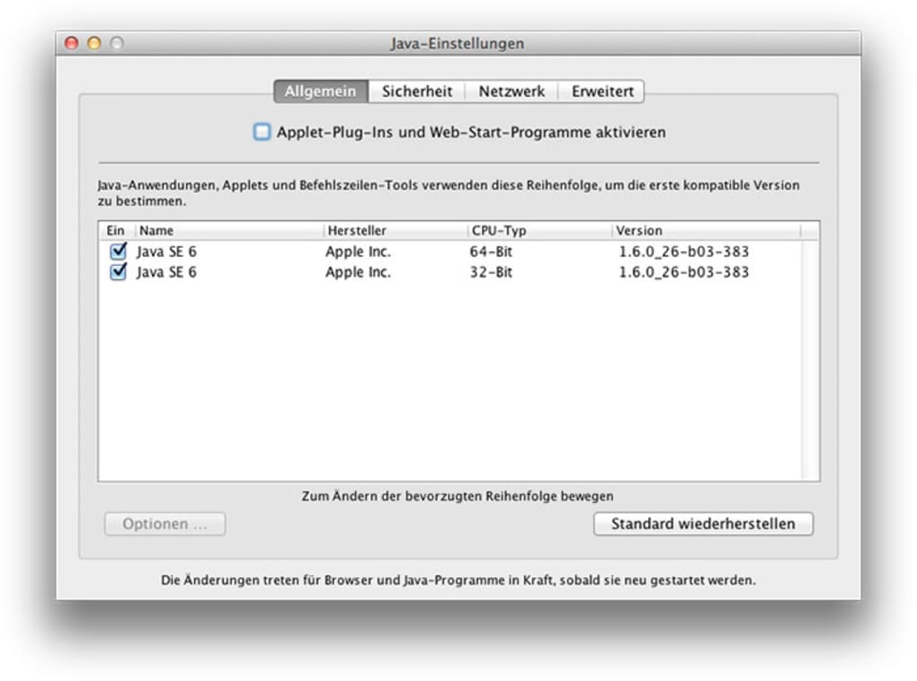 java download mac os x mavericks