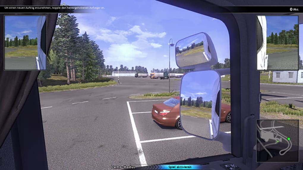 Scania truck driving game