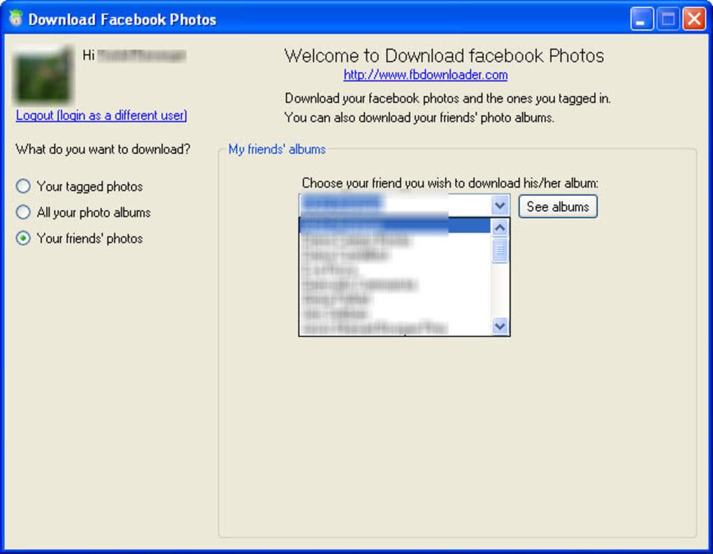 Facebook alben herunterladen  Facebook: Alle Bilder auf