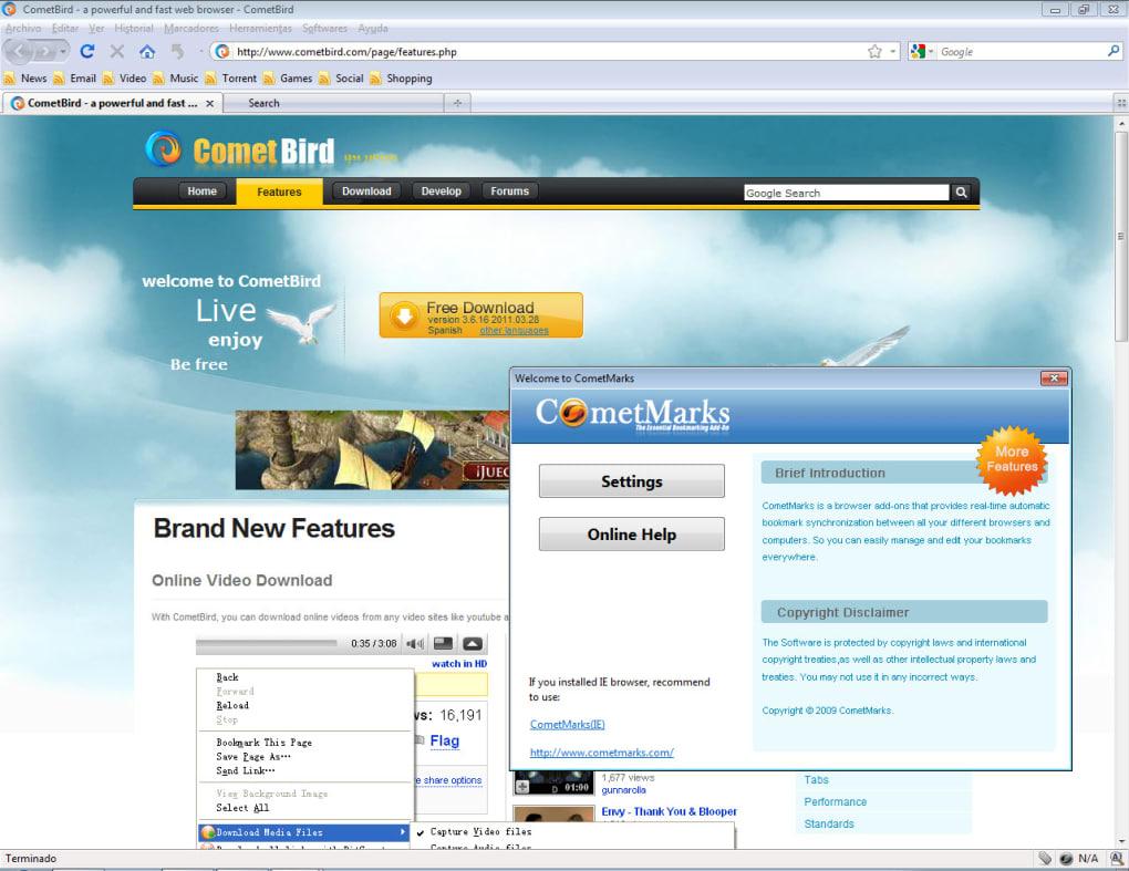 cometbird 2011 gratuit