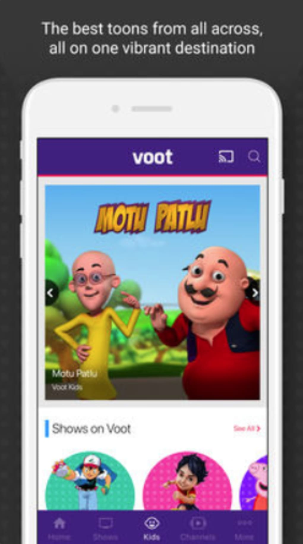 Voot TV Shows Movies Cartoons for iPhone - Download