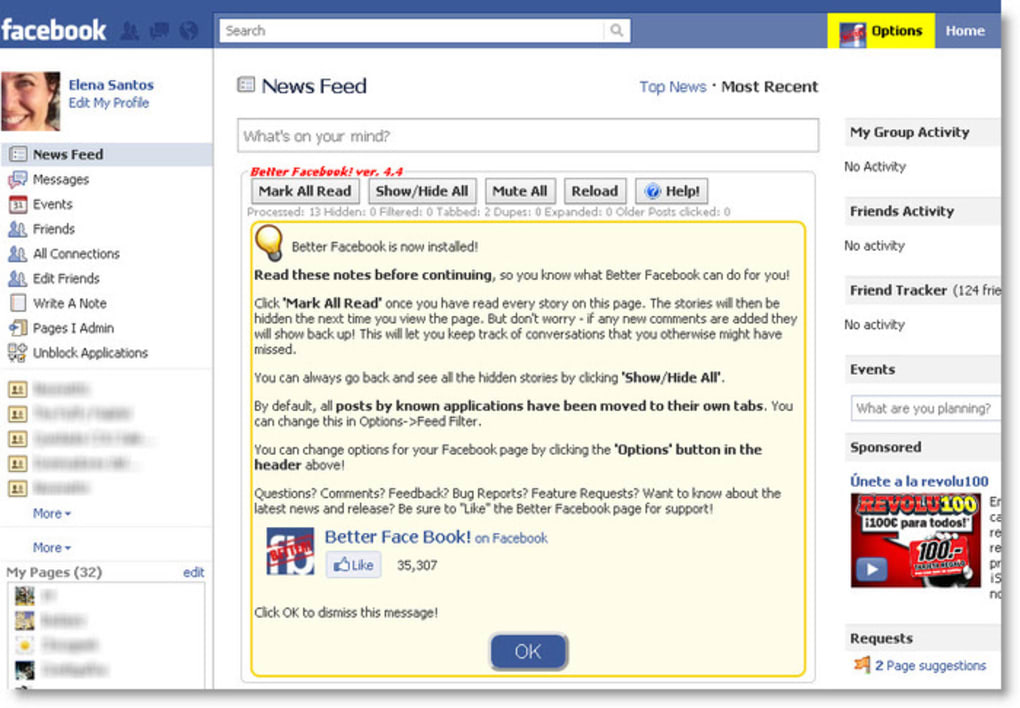 Social Fixer for Facebook - Download