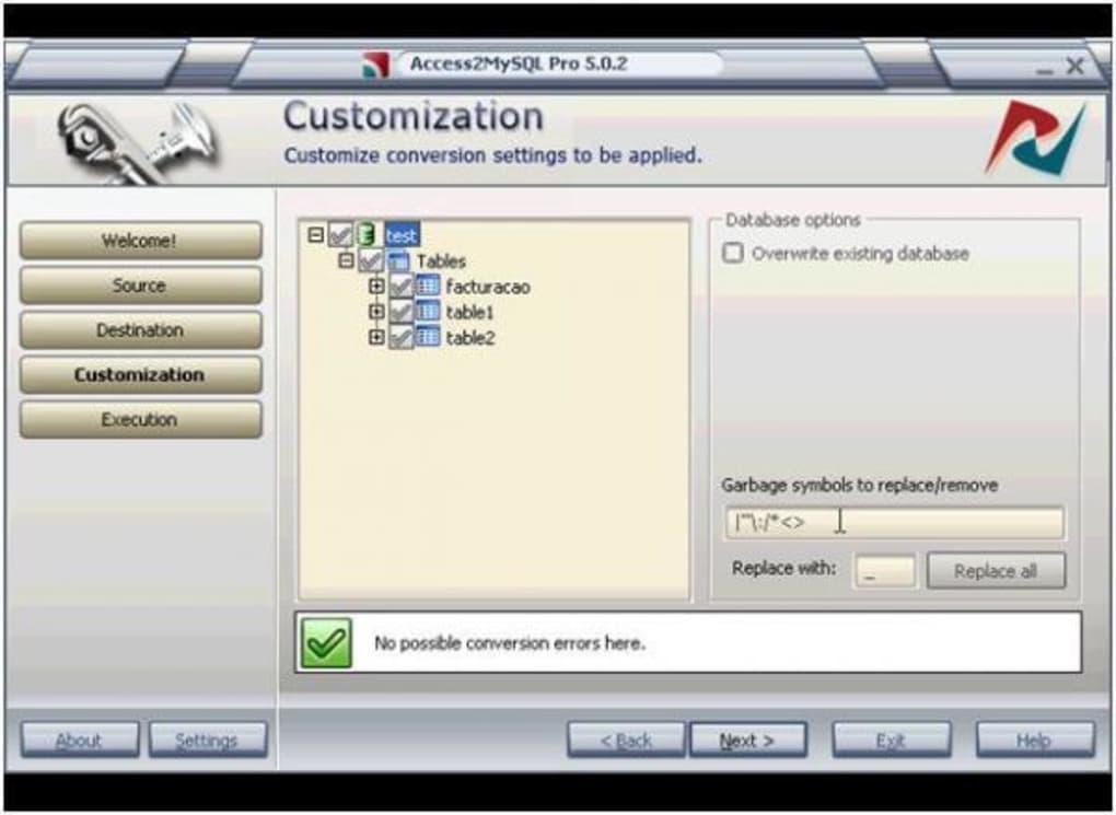 Access2MySQL - Download