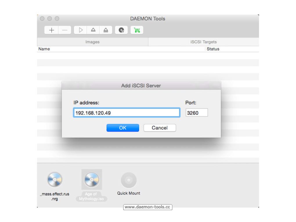 Daemons Tools For Mac