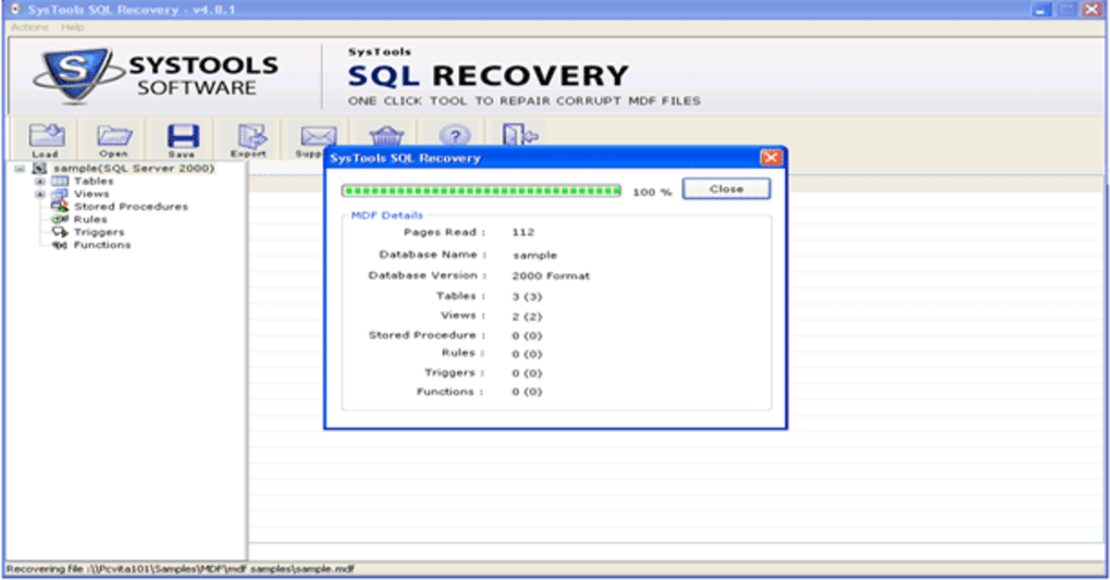 SQL Recovery Tool - Download