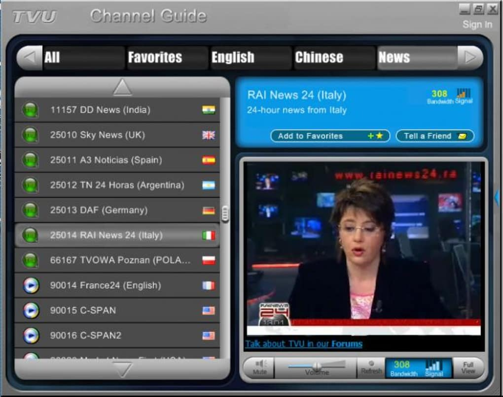 gratuitement tvuplayer