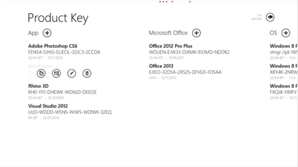 windows 8 product keys 2012