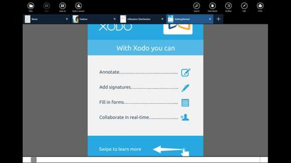 xodo pdf reader & editor for windows 10 download