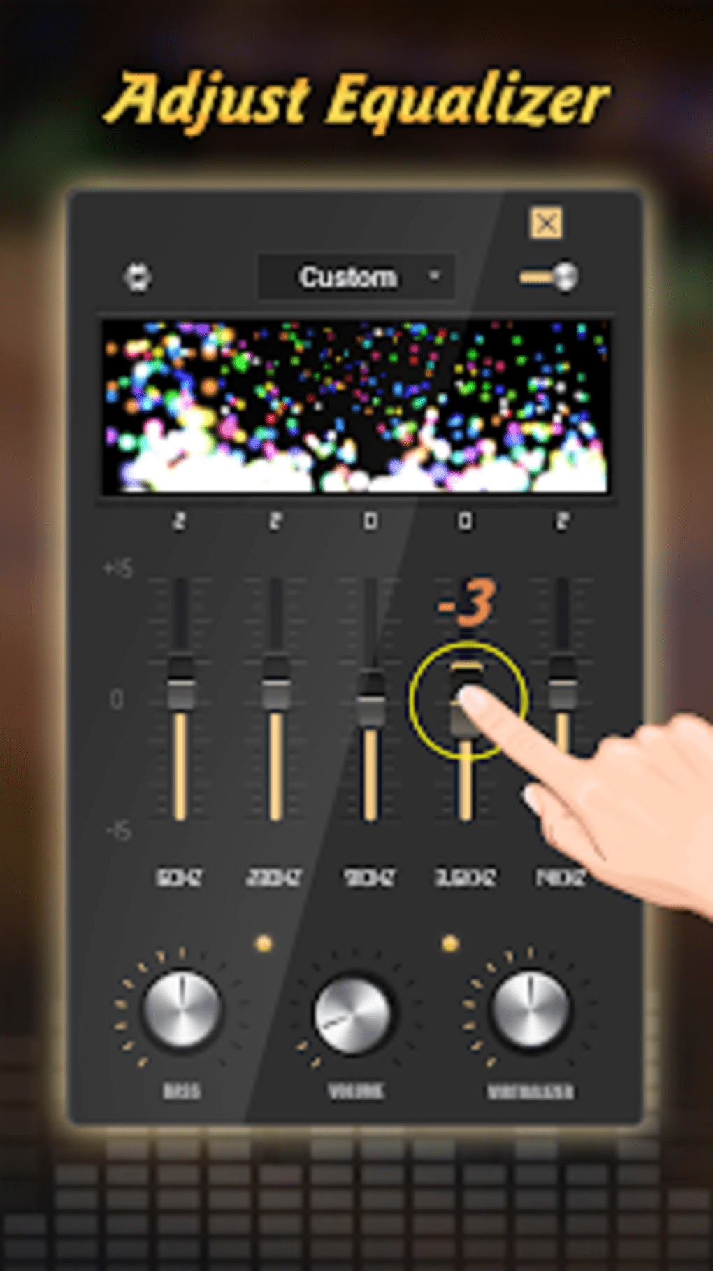 Equalizer Pro Volume Booster Bass For Android Download Cheap Audio 1 4 Screenshots