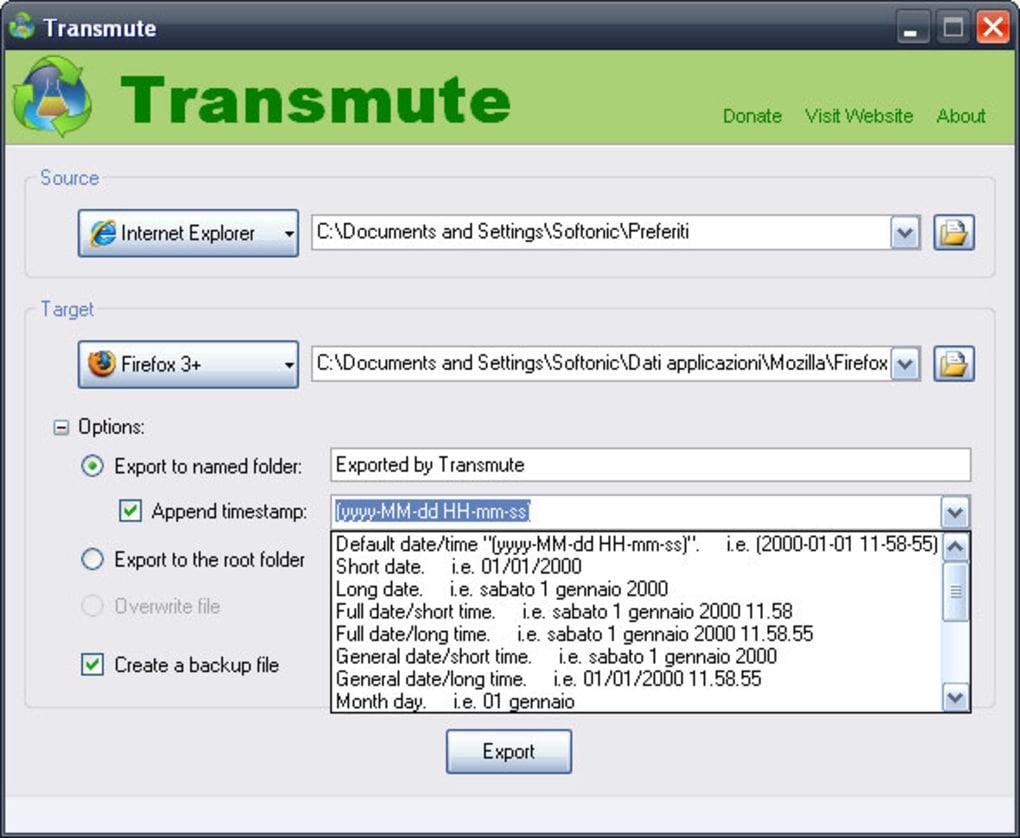 Transmute Portable - Download