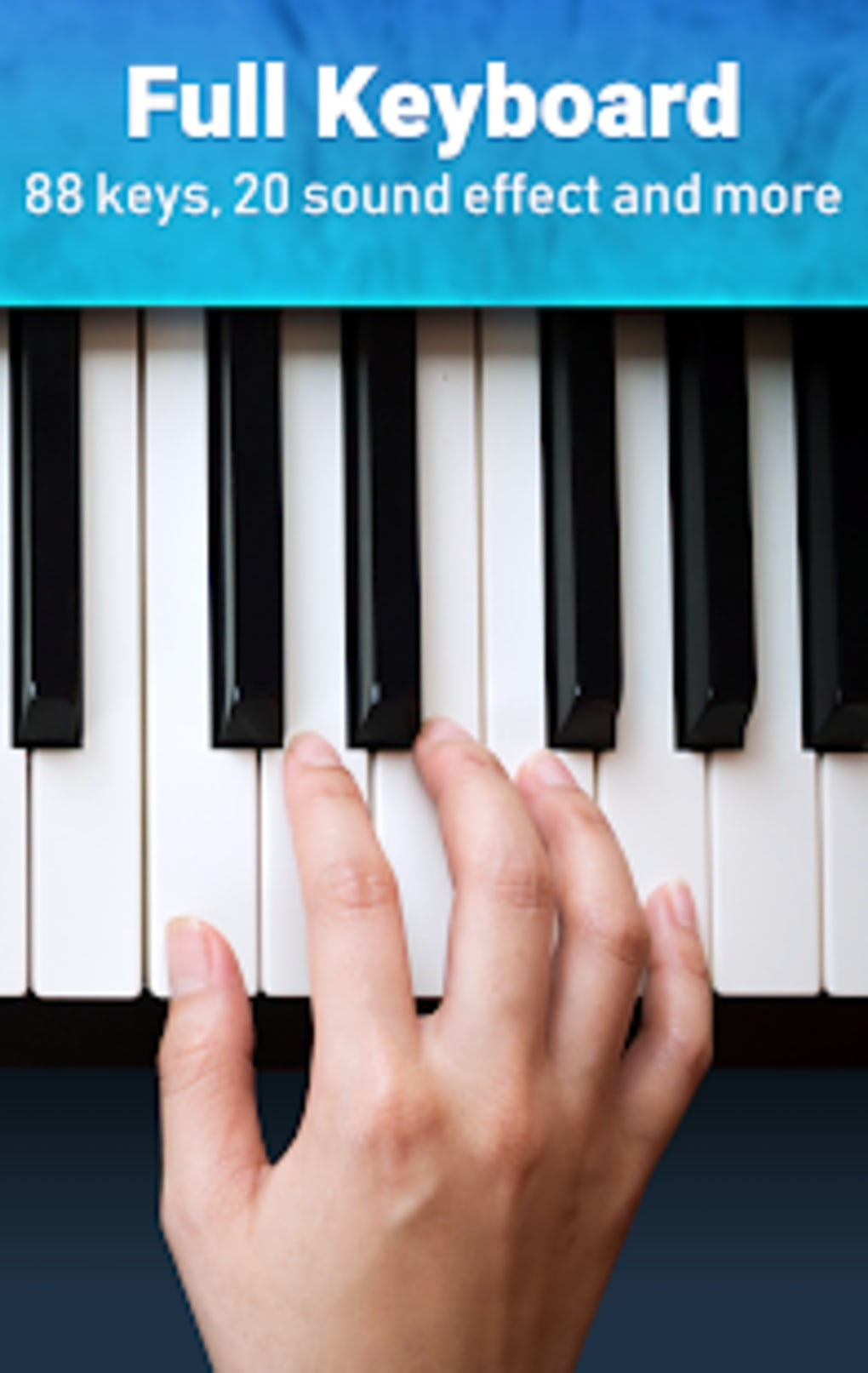 Real Piano - 3D Piano Keyboard Music Games para Android