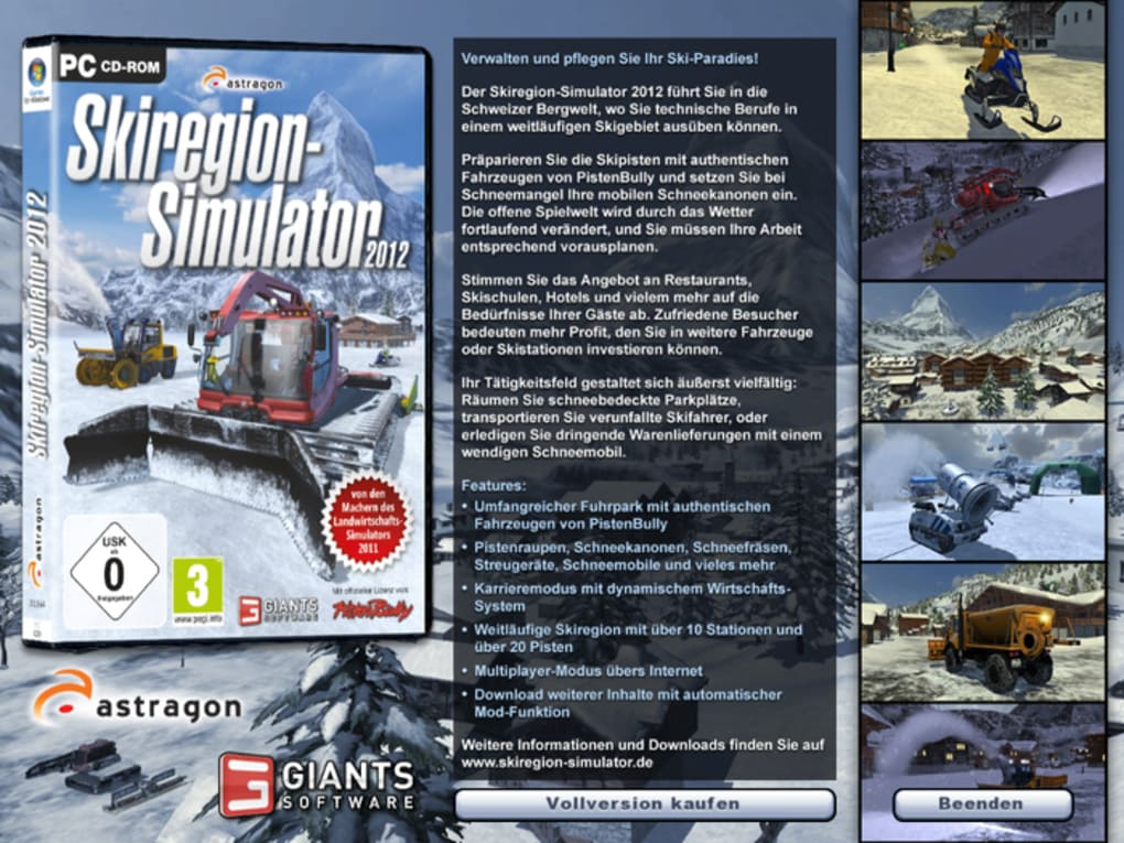 skiregion simulator 2011