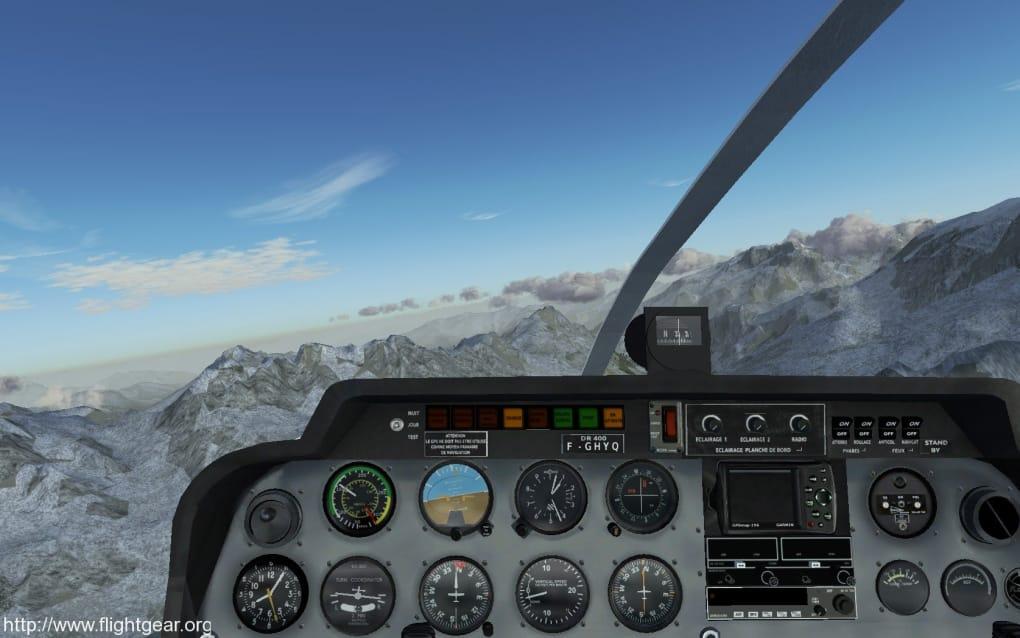 FlightGear Flight Simulator - Download