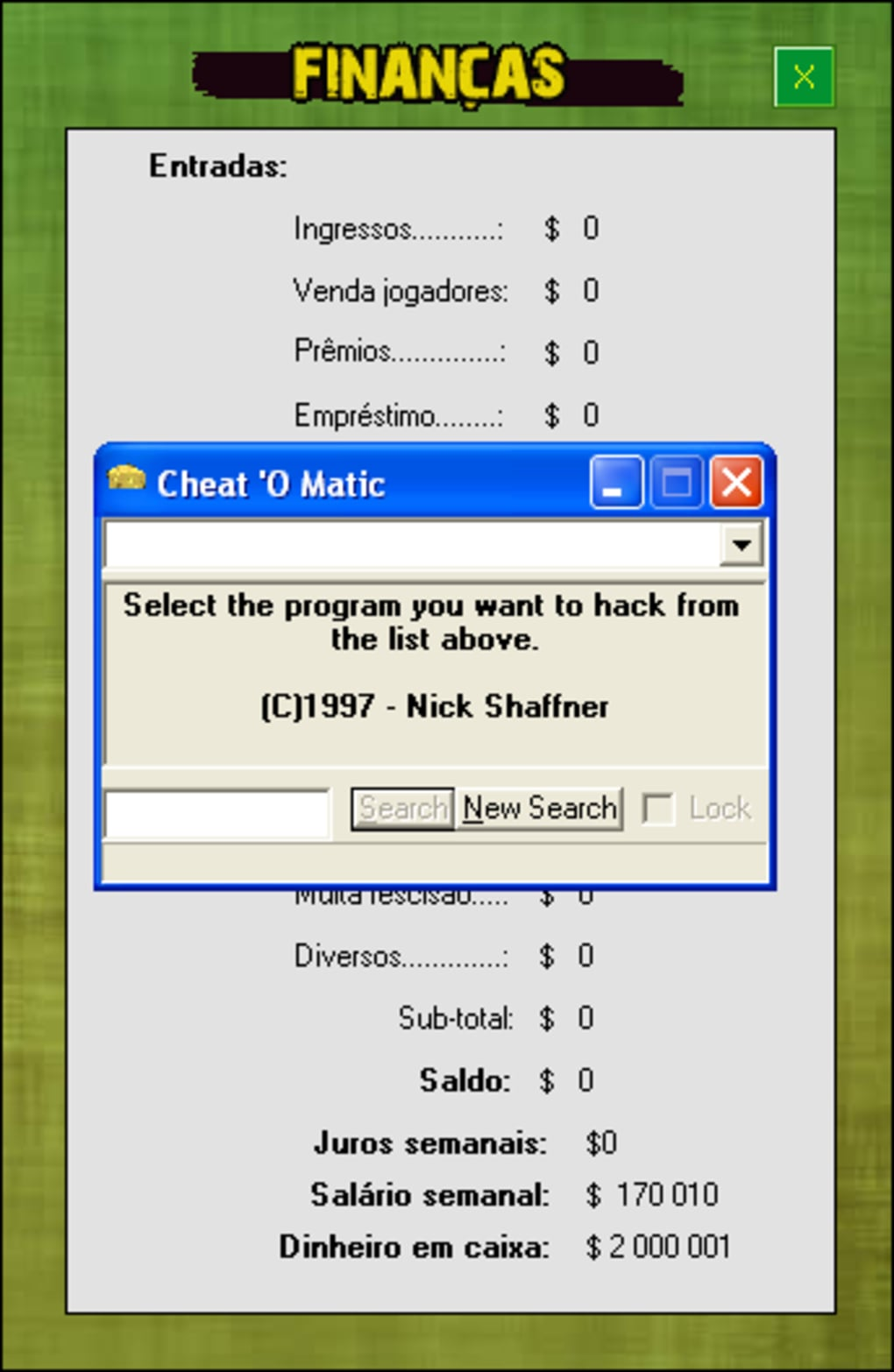Cheat O Matic Download