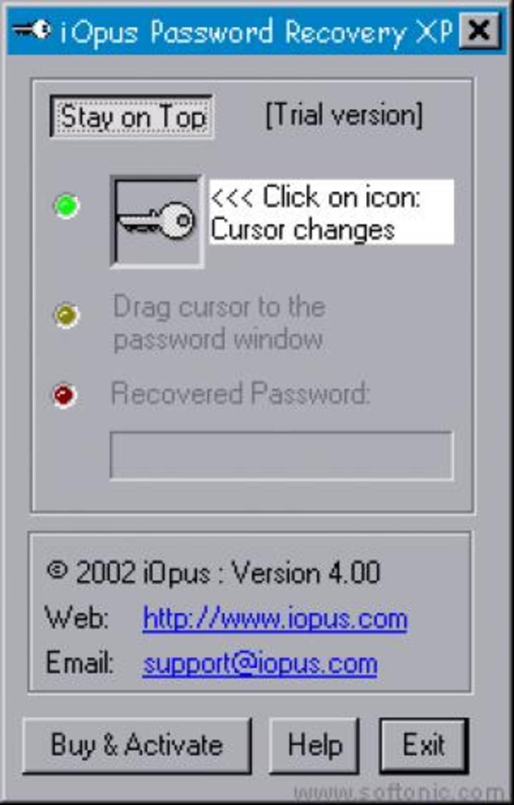 iopus password recovery xp 4.02