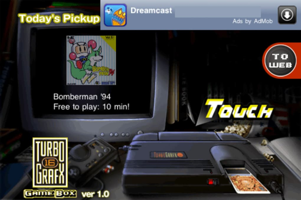 TurboGrafx-16 GameBox for iPhone - Download