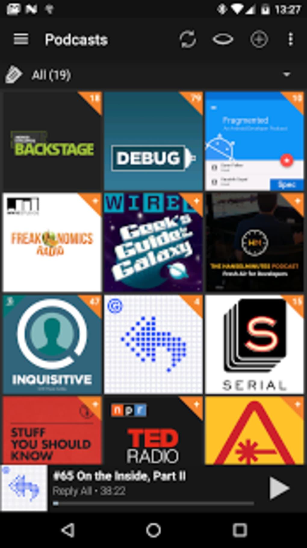 podcast addict for windows