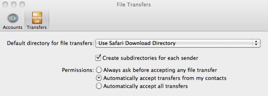 Trillian pour Mac - Télécharger
