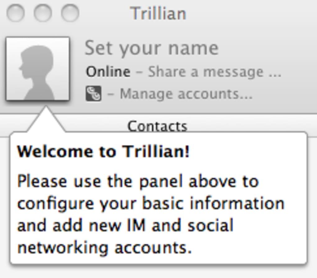 Trillian for Mac - Download