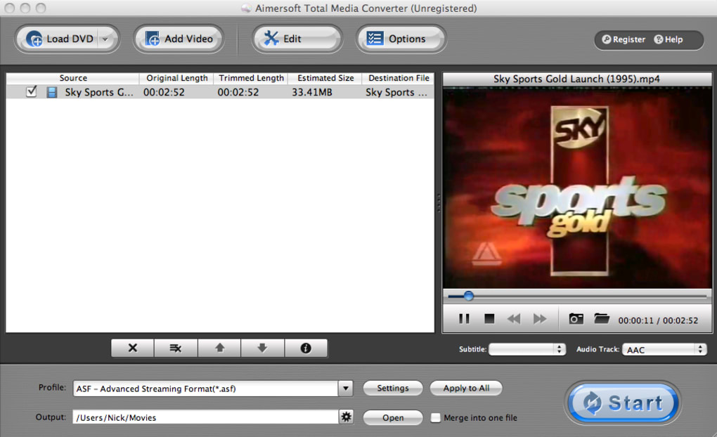 aimersoft total media converter for mac serial