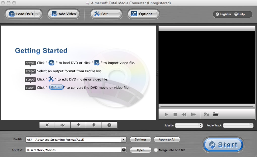 Aimersoft Dvd Ripping Software For Mac