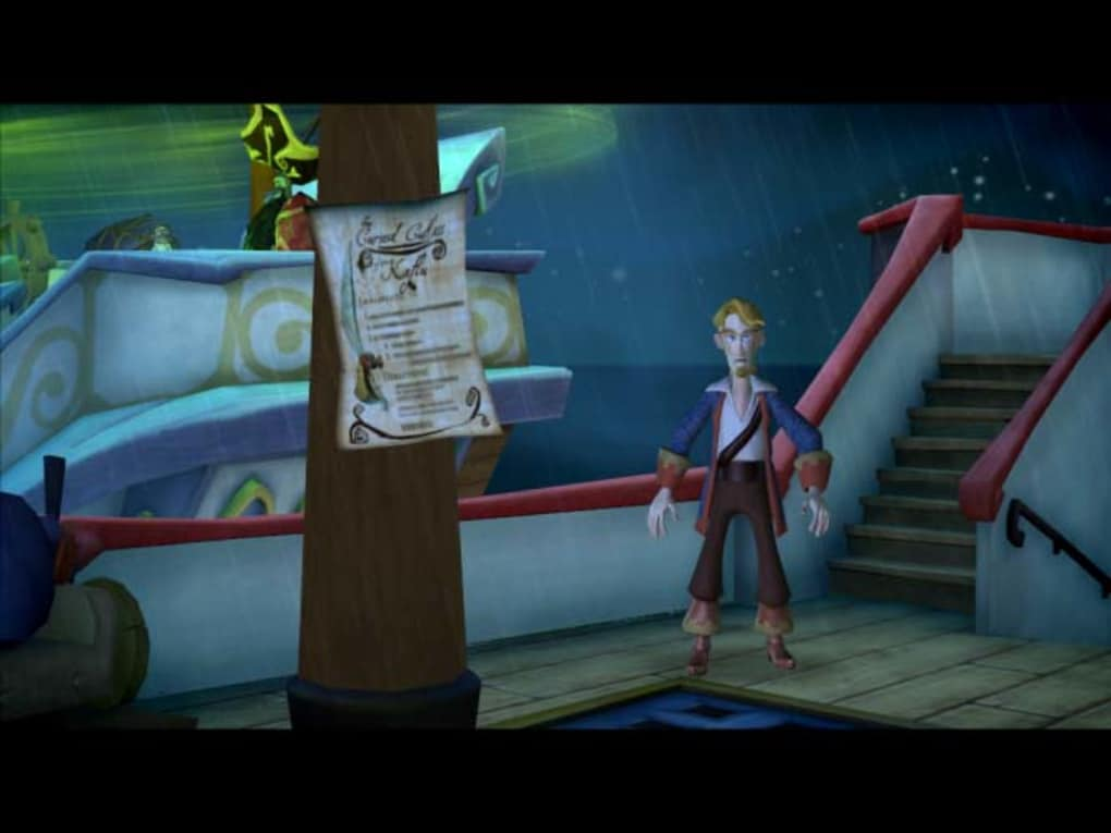 escape from monkey island mac