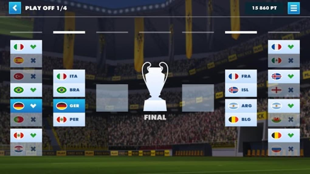 SOCCER WORLD CUP FREE KICK 17