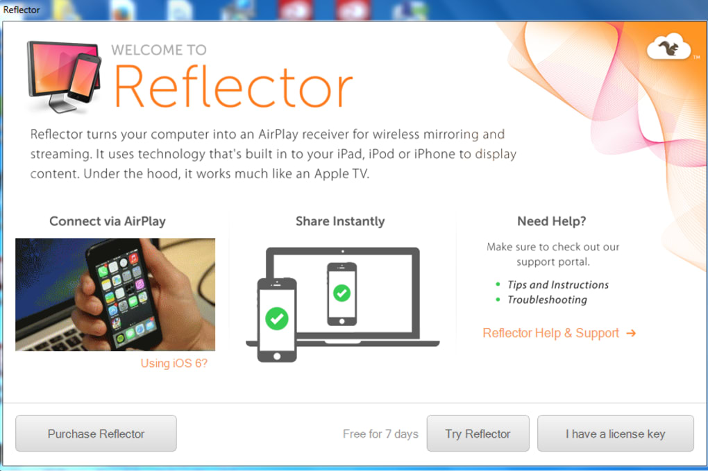 Reflector - Download