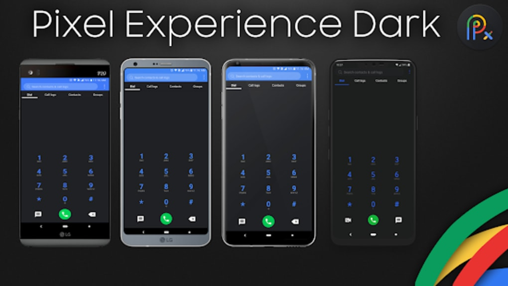 Pixel Experience Theme Dark for LG G7 for Android - Download