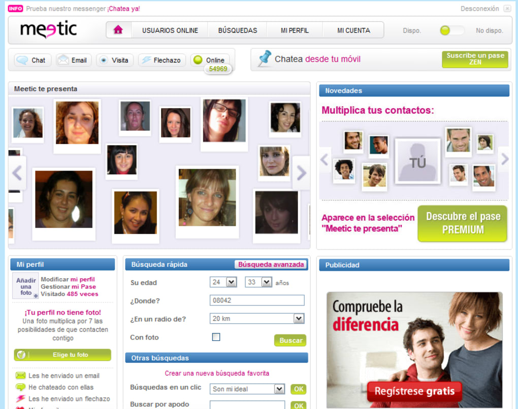 Meetic version web