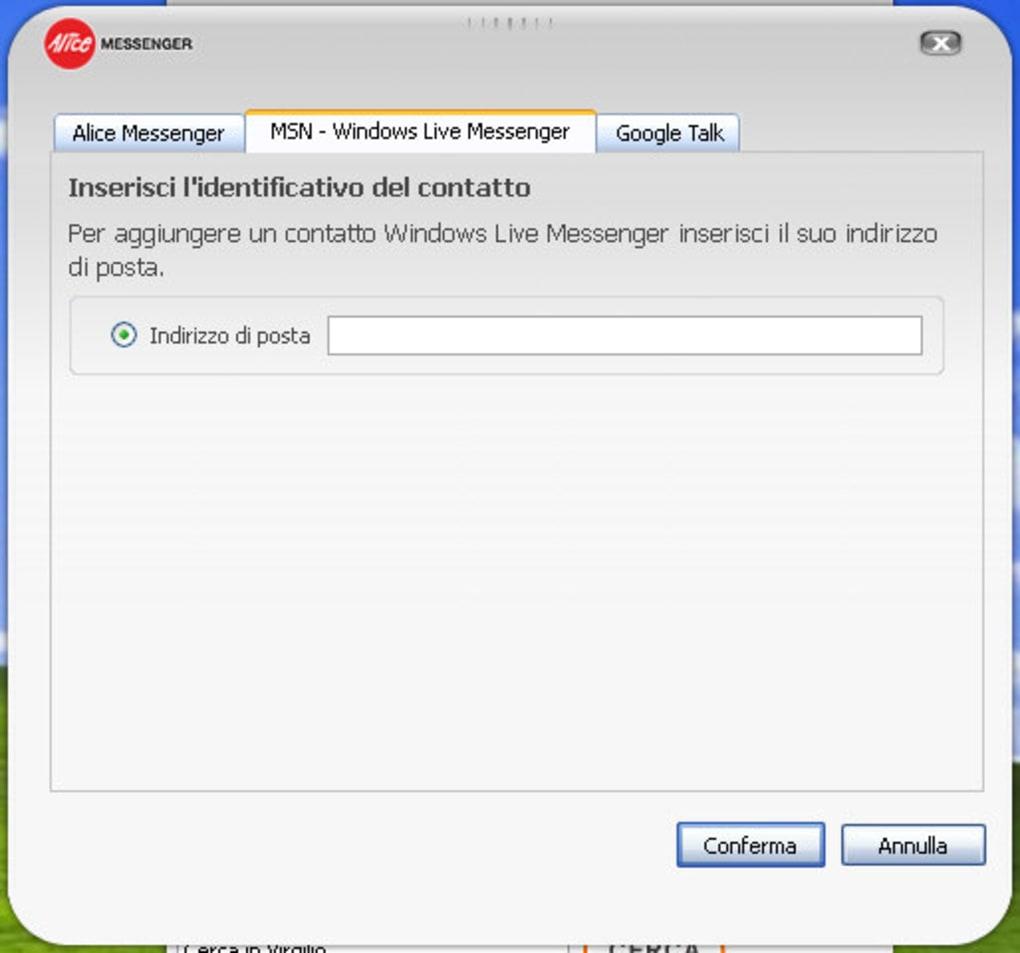 c6 messenger italiano