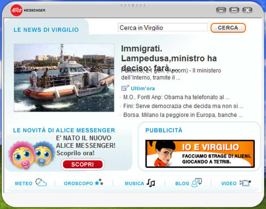 c6 messenger gratis italiano