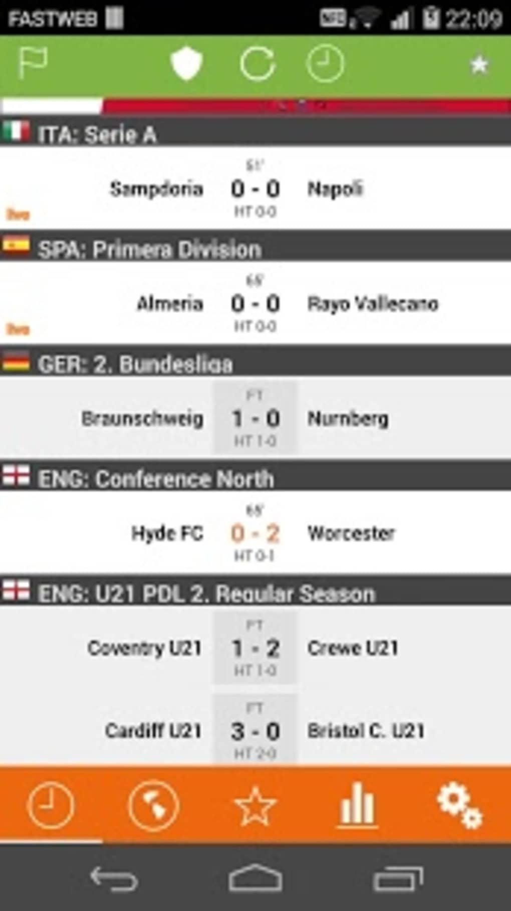 Futbol24 for Android - Download