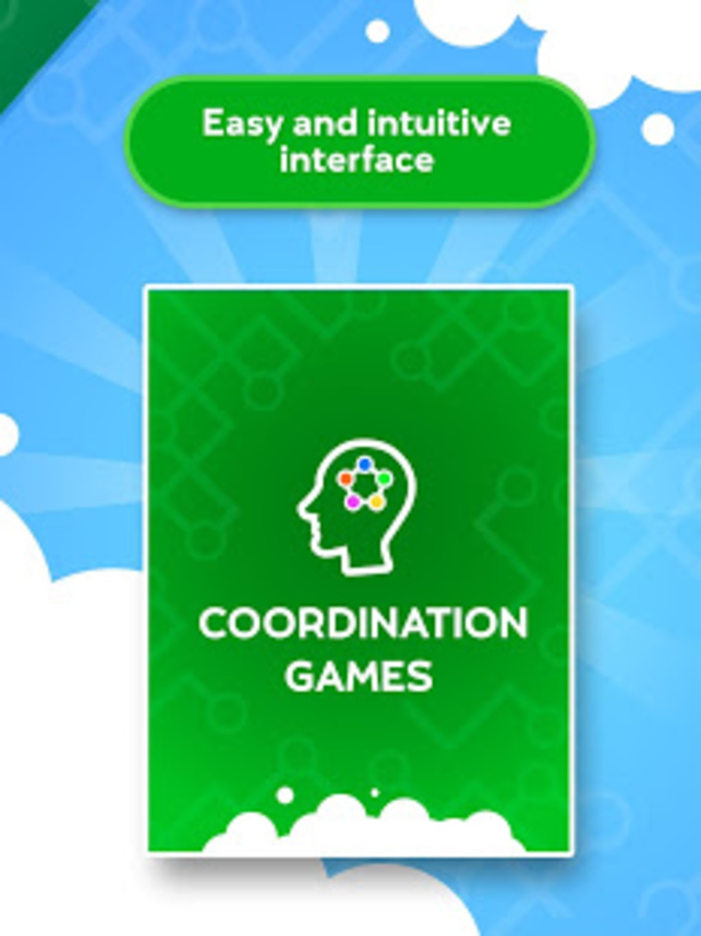 Train your brain - Coordination Games for Android - Download