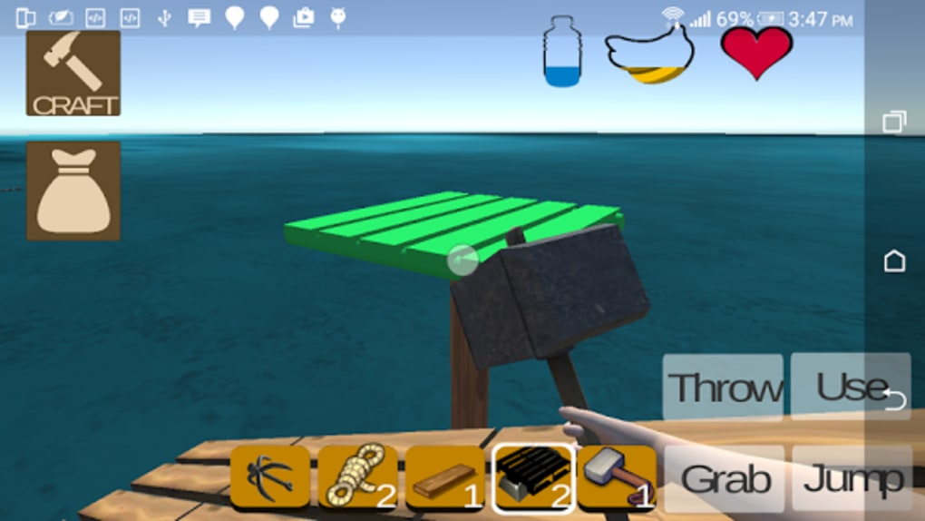 My RAFT Survival - Craft for Android - Download My RAFT Survival - Craft. 1/5 Screenshots