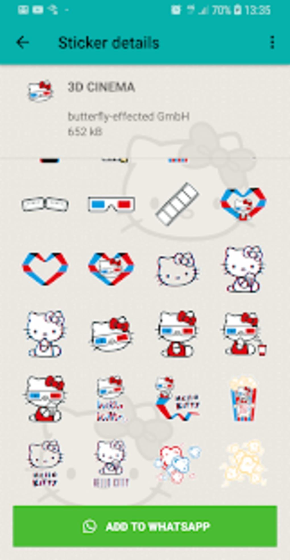 Stickers De Hello Kitty Para Whatsapp.Hello Kitty Stickers Wastickerapps For Whatsapp For