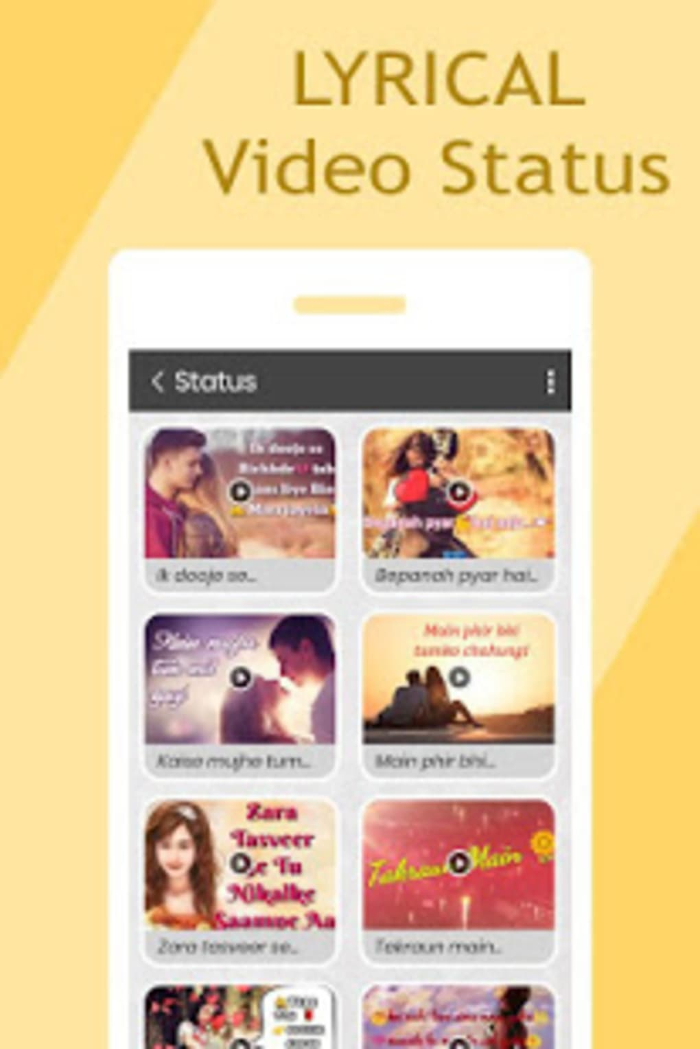 Lyrical Photo Video Maker With Music :Video Status for