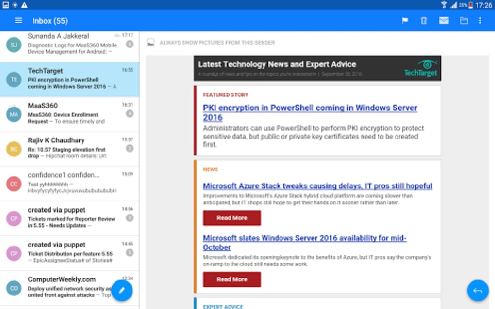 MaaS360 Mail for Android - Download