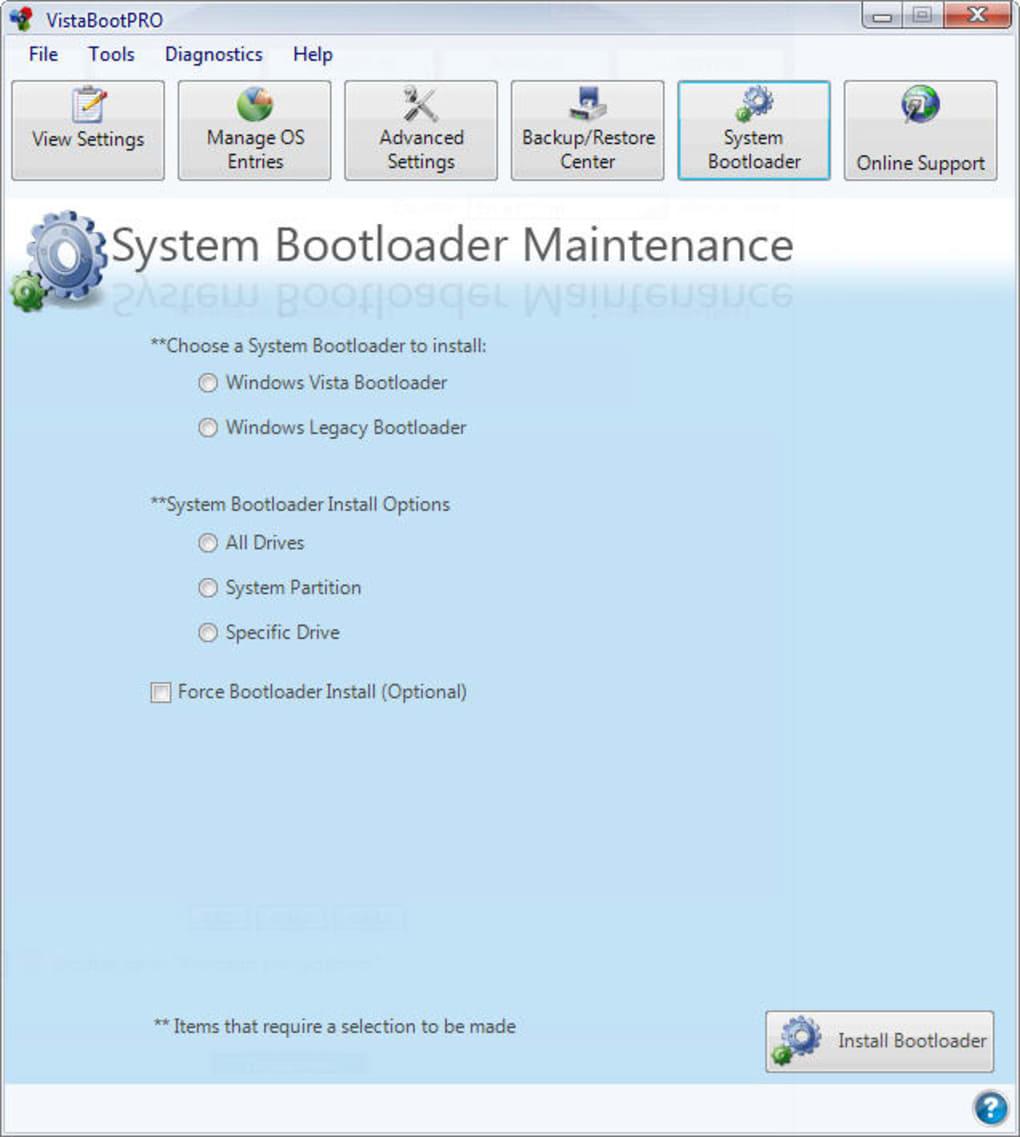 vistabootpro 3.3 gratuit