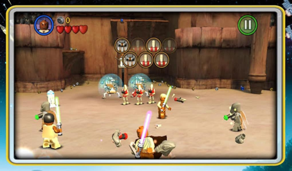 lego star wars tcs screenshot