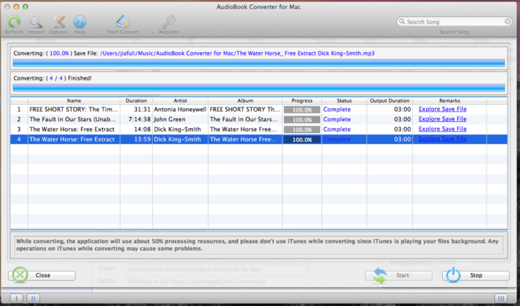 Mac AudioBook Converter (Mac) - Download