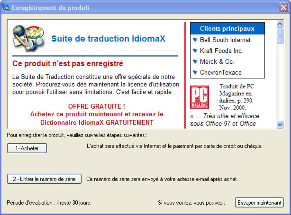 idiomax gratuit