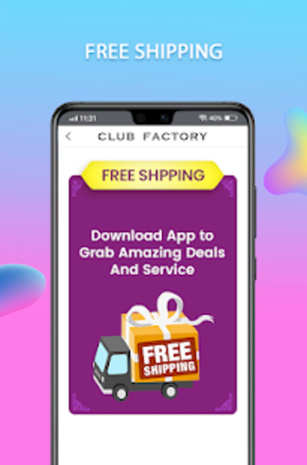 Club Factory APK for Android   Download