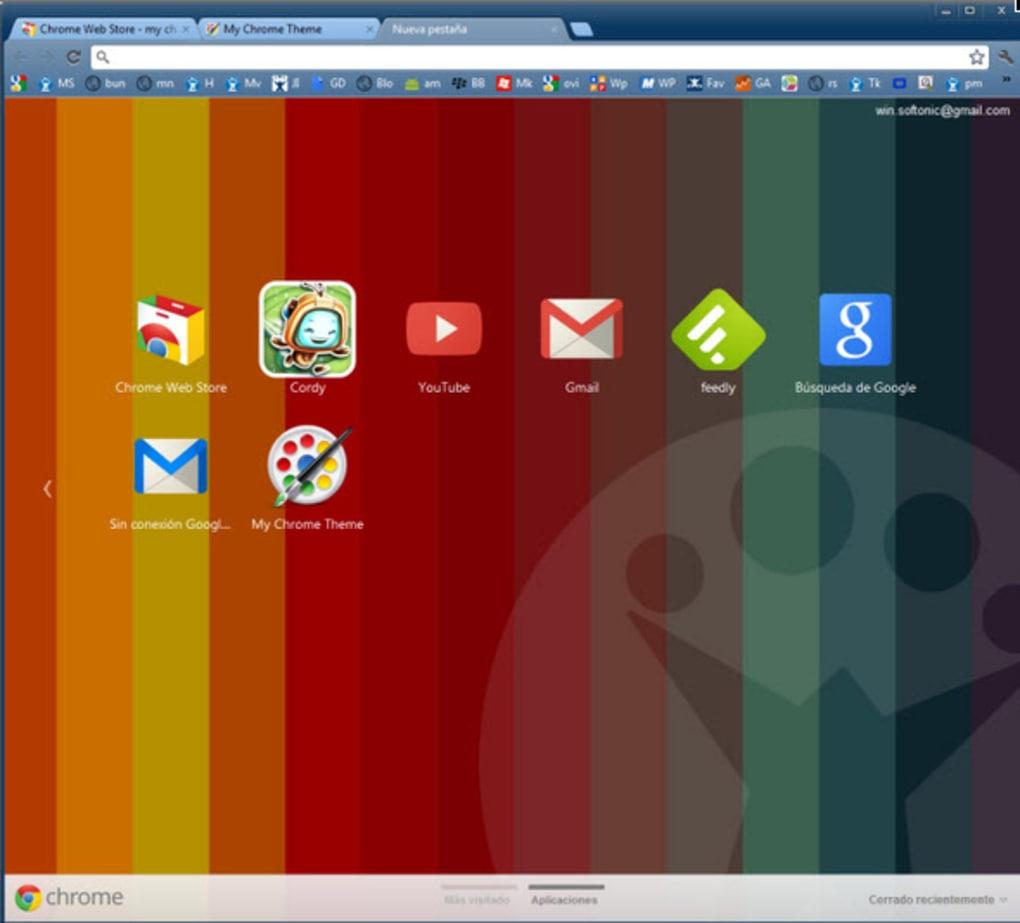 My Chrome Theme ダウンロード