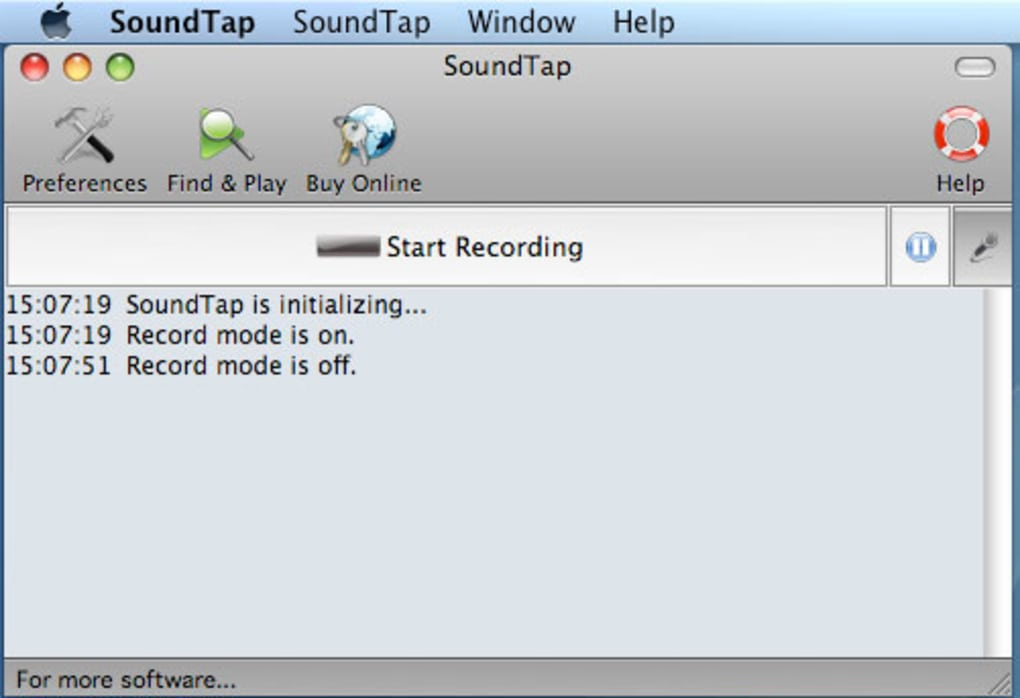 download sound recorder for mac