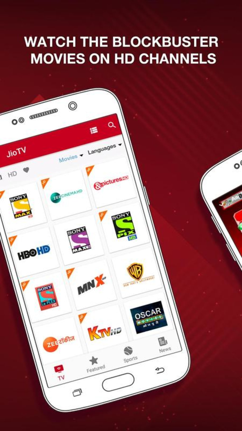 JioTV - Live TV & Catch-Up for Android - Download