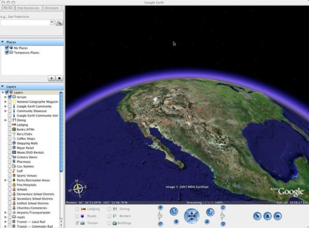 google earth pour mac os 10.4.11