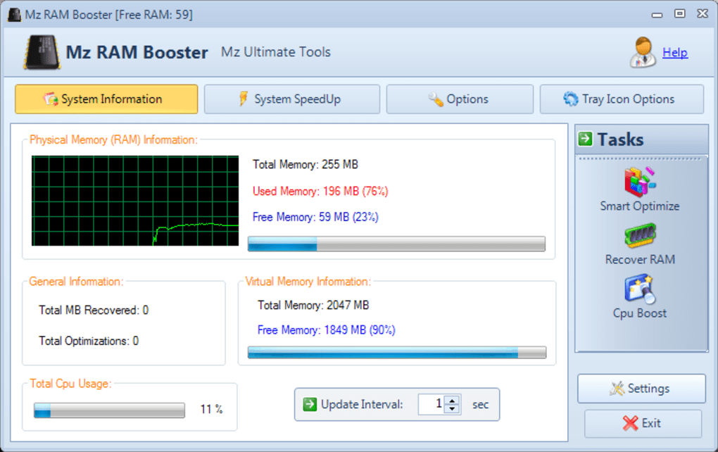 free download ram booster for windows 7 full version