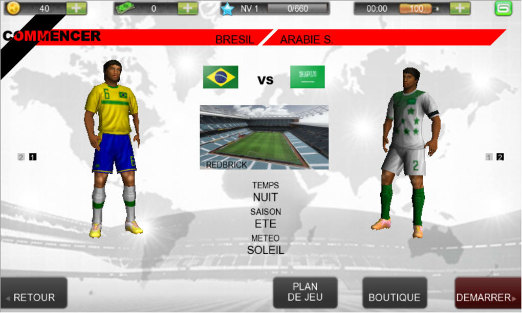 Real Football 2012 pour Android - Télécharger